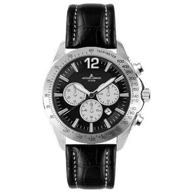 Grote foto horloge heren jacques lemans 1 1751a 44 mm kleding dames horloges
