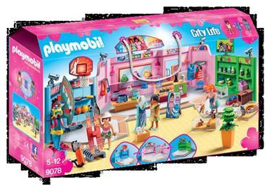 Grote foto playmobil city life 9078 winkelgalerij kinderen en baby duplo en lego