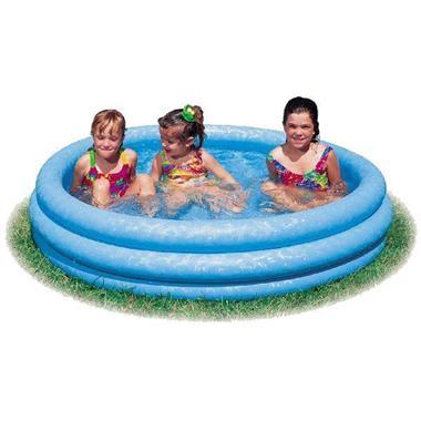 Grote foto intex crystal blue pool 147x33 kinderen en baby los speelgoed
