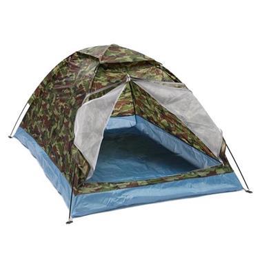 Grote foto 2 persoons tent campingtent bijzettent koepeltent caravans en kamperen tenten