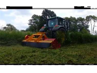 Grote foto ino profi mega 300 klepelmaaier tuin en terras grasmaaiers