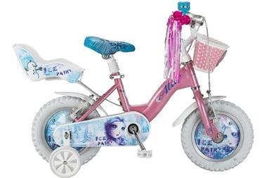 Grote foto altec frozen ice 12 inch meisjesfiets poppenzitje mandje r fietsen en brommers kinderfietsen