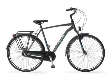 Grote foto cityflex 28 inch 3 versnellingen grijs fietsen en brommers herenfietsen