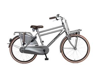 Grote foto daily dutch basic 24 inch jongensfiets titanium fietsen en brommers kinderfietsen