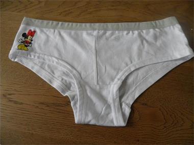 Grote foto roze witte blauwe damesslip kleding dames ondergoed