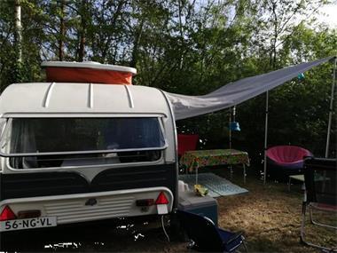 Grote foto prachtige yvonne mostard 304 hd langslaper caravans en kamperen caravans oldtimers