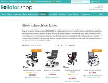 Grote foto elektrische rolstoel kopen diversen rolstoelen