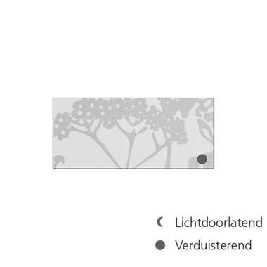 Grote foto keylite gordijn verduist.wizi bloem 780x980mm gv04 huis en inrichting gordijnen en lamellen