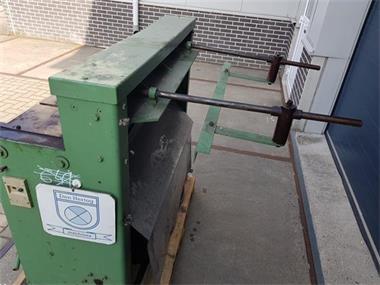 Grote foto jorg knipschaar knipbank plaatschaar elektrisch 1050x2mm 400 doe het zelf en verbouw gereedschappen en machines
