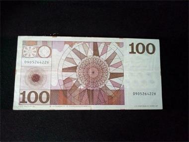Grote foto 100 gulden 1970 postzegels en munten nederland