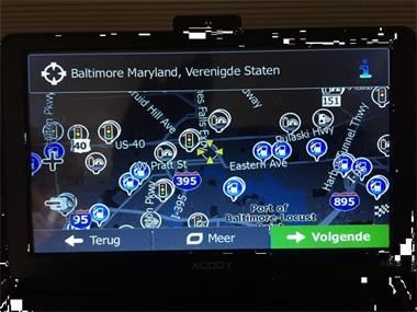 Grote foto te koop navigatie systeem usa en canada 90 00 auto diversen overige accessoires