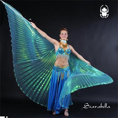Grote foto scarabella buikdanseres bellydance kostuum sexy kleding dames carnavalskleding en feestkleding