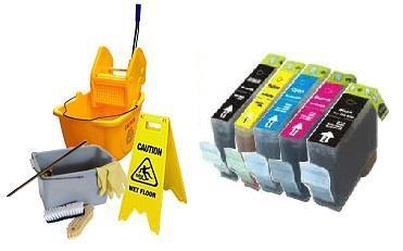 Grote foto geschikt canon bci 3 6 reinigings cartridges set van inktme computers en software printers