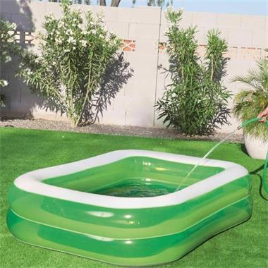 Grote foto bestway zwembad swim n slime rechthoekig tuin en terras zwembaden toebehoren