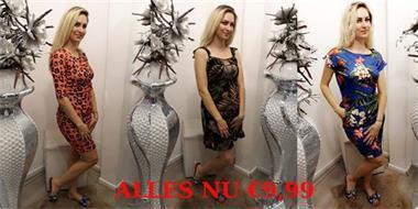 Grote foto alles nu 9 99 kleding dames jurken en rokken