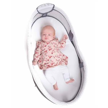 Grote foto bo jungle b babyslaper met verlichting opvouwbaar grijs kinderen en baby babywiegjes en ledikanten