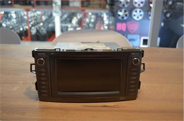 Grote foto radio navigatie toyota auris 2007 auto onderdelen overige auto onderdelen