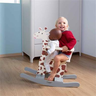 Grote foto childhome hobbelgiraffe ecru kinderen en baby overige