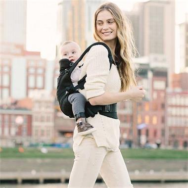 Grote foto babydraagzak adapt black kinderen en baby overige babyartikelen