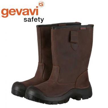 Grote foto gevavi safety gs83 bruin veiligheidslaarzen s3 uniseks 46 tuin en terras overige tuin en terras
