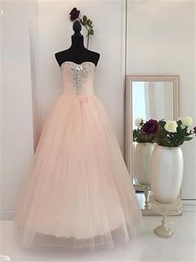 Grote foto creme kleur trouwjurk maat 32 t m 42 kleding dames trouwkleding