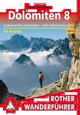 Grote foto wandelgids dolomiten 8 dolomieten rother bergverlag boeken overige boeken