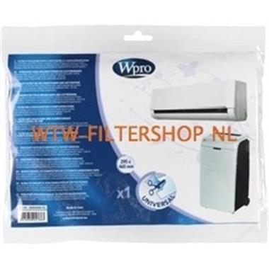 Grote foto universeel filter voor luchtreiniger 290 x 460 mm afi106 w witgoed en apparatuur ventilatoren en airco