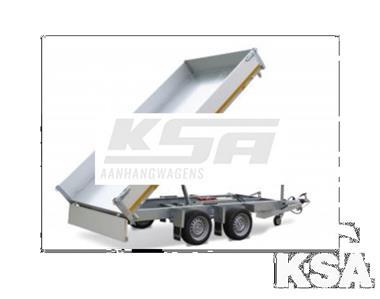 Grote foto eduard 3 zijdige kipper330 x 180 3500 kg aanhangwagen kippe auto diversen aanhangers