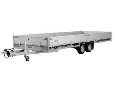 Grote foto hulco medax 2 2600 502 x 203 2600 kg open aanhangwagen auto diversen aanhangers