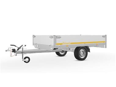 Grote foto eduard plateau multi 256 x 150 1000 kg open aanhangwagen auto diversen aanhangers