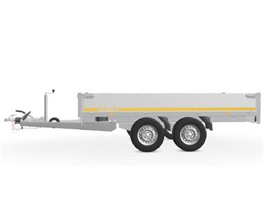 Grote foto eduard plateau multi 311 x 160 2500 kg open aanhangwagen auto diversen aanhangers