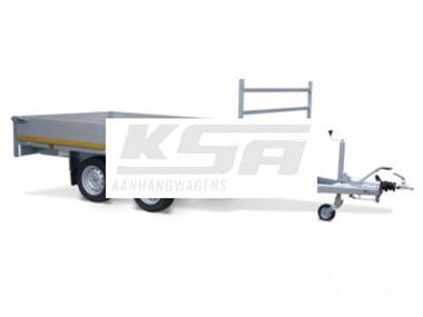 Grote foto eduard plateau multi 330 x 180 3000 kg open aanhangwagen auto diversen aanhangers