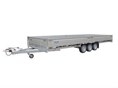Grote foto hulco medax 3 3500 502 x 203 3500 kg open aanhangwagen auto diversen aanhangers