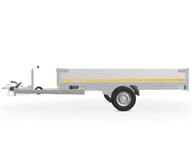 Grote foto eduard plateau multi 311 x 160 1350 kg open aanhangwagen auto diversen aanhangers