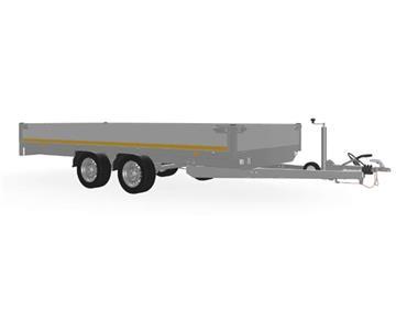 Grote foto eduard plateau multi 406 x 200 2000 kg open aanhangwagen auto diversen aanhangers