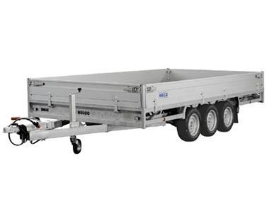 Grote foto hulco medax 3 3500 405 x 223 3500 kg open aanhangwagen auto diversen aanhangers
