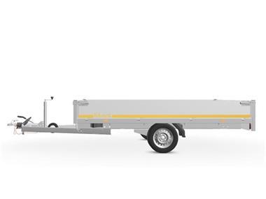Grote foto eduard plateau multi 311 x 180 1350 kg open aanhangwagen auto diversen aanhangers
