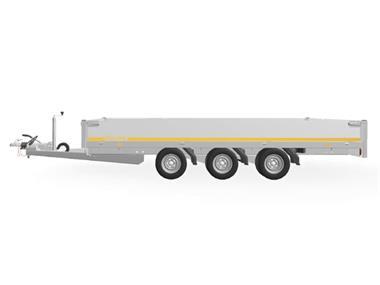 Grote foto eduard plateau multi 406 x 220 3500 kg open aanhangwagen auto diversen aanhangers