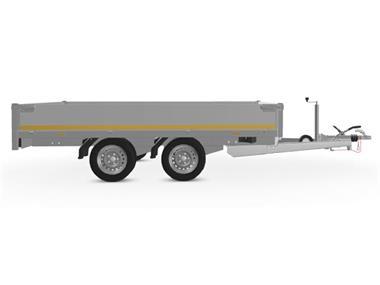 Grote foto eduard plateau 311 x 180 3000 kg open aanhangwagen auto diversen aanhangers