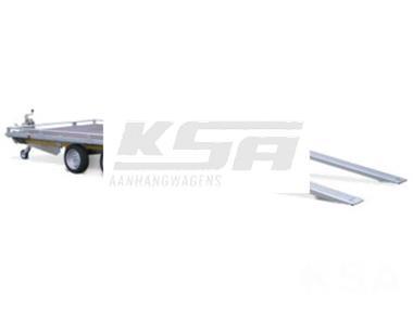 Grote foto eduard autotransporter406 x 200 2500 kg open aanhangwagenau auto diversen aanhangers