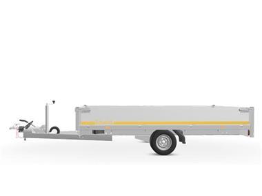 Grote foto eduard plateau 311 x 180 1500 kg open aanhangwagen auto diversen aanhangers