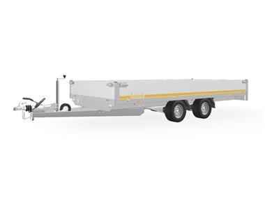 Grote foto eduard plateau406 x 220 3000 kg open aanhangwagen auto diversen aanhangers