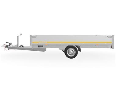 Grote foto eduard plateau 330 x 180 1350 kg open aanhangwagen auto diversen aanhangers