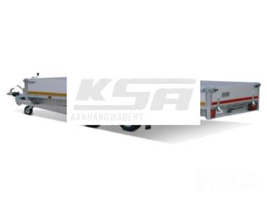 Grote foto eduard plateau406 x 220 3500 kg open aanhangwagen auto diversen aanhangers