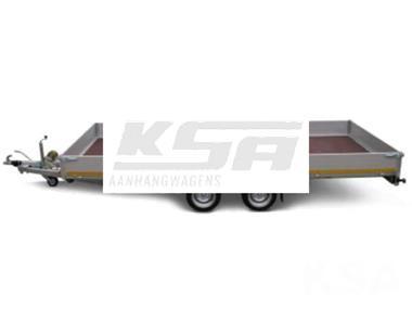 Grote foto eduard plateau506 x 200 3500 kg open aanhangwagen auto diversen aanhangers