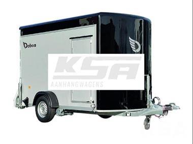 Grote foto debon roadster 300 ppl300 x 155 1300 kg gesloten aanhangwag auto diversen aanhangers