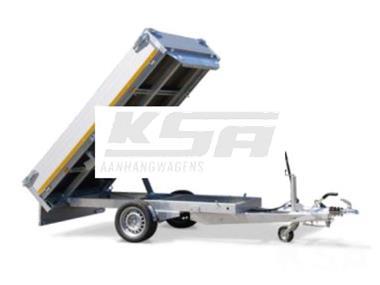 Grote foto eduard achterwaartse kipper260 x 150 1500 kg aanhangwagen k auto diversen aanhangers