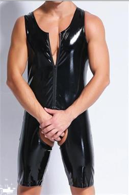 Grote foto erotische latex bdsm mannen kleding. erotiek erotische kostuums