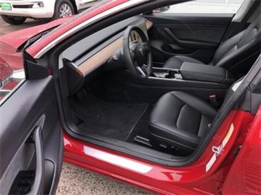 Grote foto tesla model 3 red color 2019 auto tesla