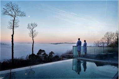 Grote foto durbuy ardennen chalet met uniek wellness lounge vakantie belgi